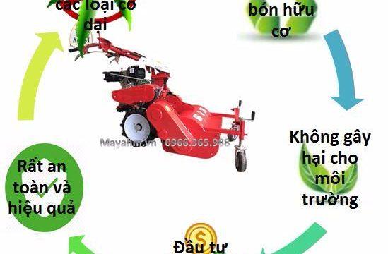 tiện ích máy quật cỏ AHM 6TN